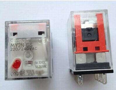 特价现货供应欧姆龙微型功率继电器MY2N-GS DC24小型中间继电器