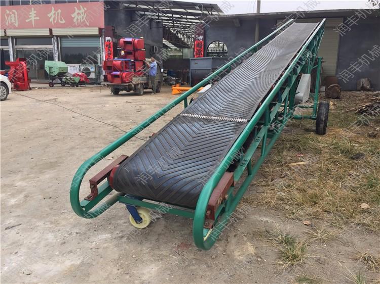 黄冈皮带输送机黄冈定做多种材料的输送机