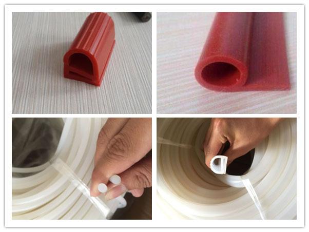 耐高温硅胶密封条耐高温硅胶胶条定制加工厂家