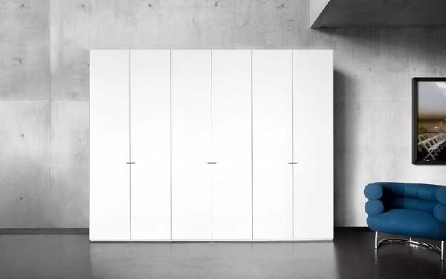 滑动门衣柜厂家 在哪能买到新款板式卧室套间