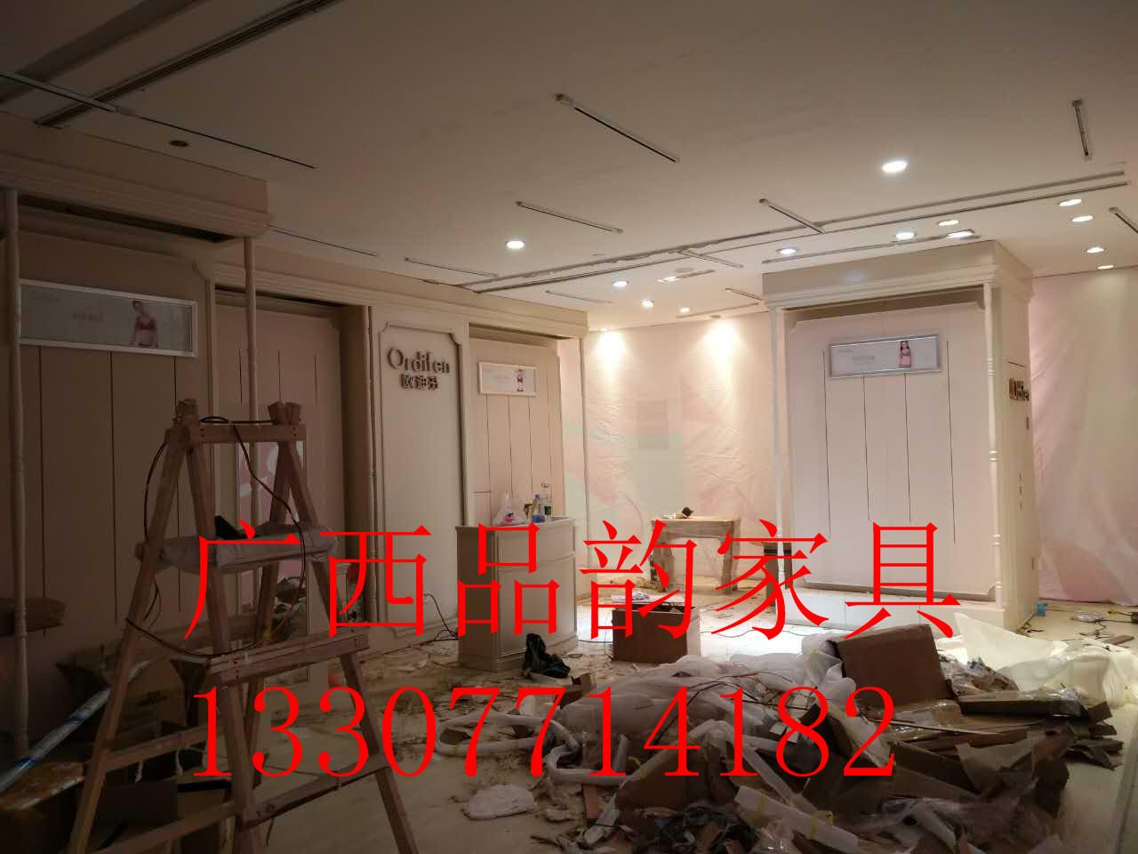 南宁化妆柜烤漆展柜厂家