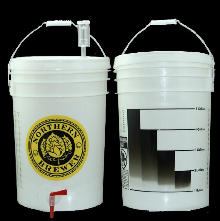25L美式啤酒发酵桶 带专用龙头 高密美德家居用品有限公司 生产制造出口欧美