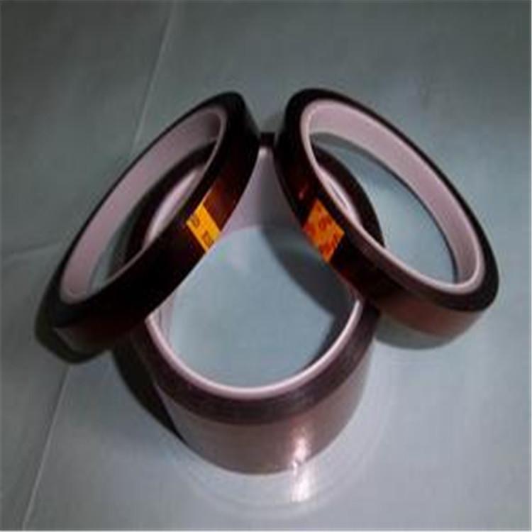 惠州单面胶茶色胶带分切、茶色PET耐高温胶带批发