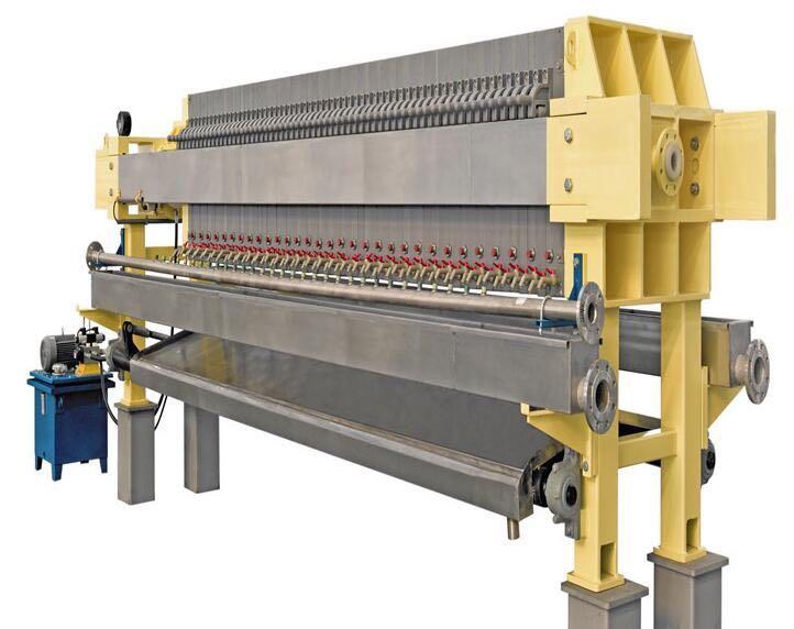 一开三板压滤机厢式压滤生产厂家河北天冠机械