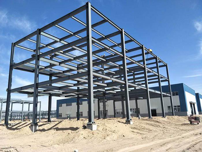 陕西多层钢结构框架楼-宁夏多层钢结构框架楼丨宁夏金