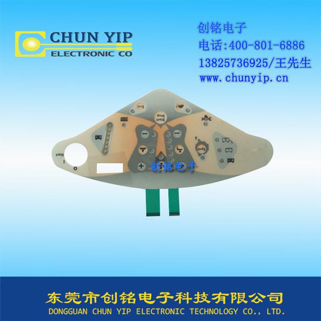 LED背光薄膜按键给机械的质量标准