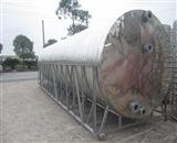 圆形保温水箱佛山市安能热能环保设备大型圆形保温水箱坚固耐用