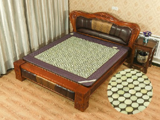 龙达玉石床垫厂专业的锗石床垫_鞍山锗石床垫批发