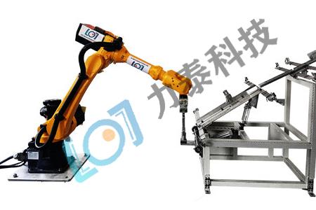 产品报道上下料全自动生产线 力泰提供上下料机械手