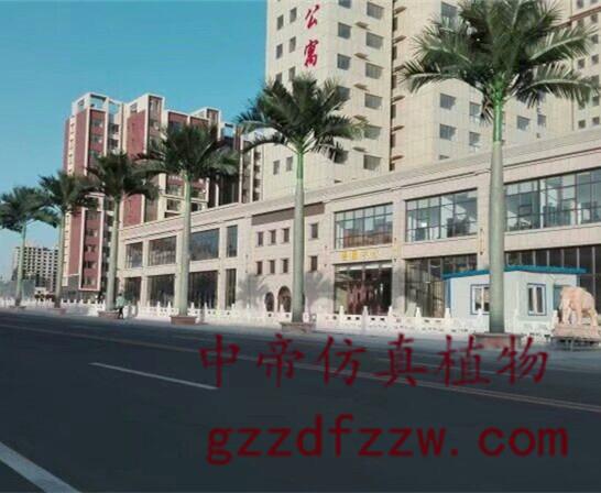 要买优惠的仿真大王椰,广州市中帝仿真景观工程是不二选择_室外大王椰景观树