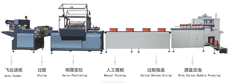 上海酒盒包装机-想买实惠的全自动酒盒生产线,就来兴联机械