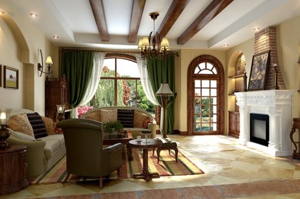 塘厦客厅装修设计、客厅装修当选隆艺装饰