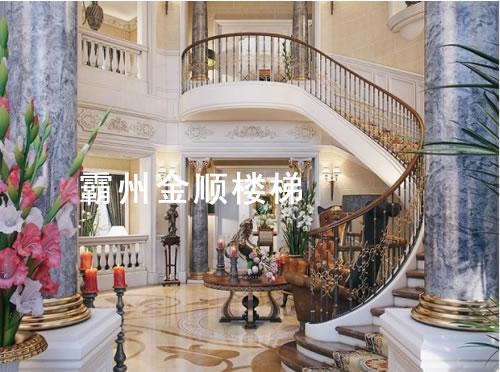 酒店会所楼梯品质保证_宿迁酒店会所楼梯生产厂家【金顺】