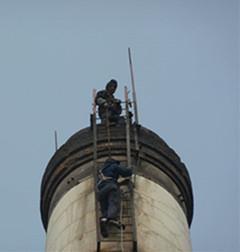 临沭烟囱安装避雷针当选大顺高空服务热线13615155658