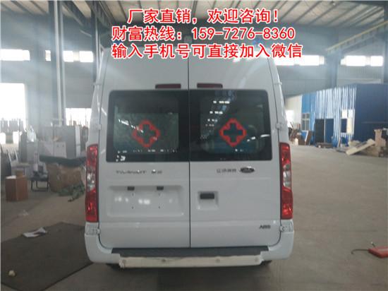 兴国县复苏型小型救护车流动救护饮运输车