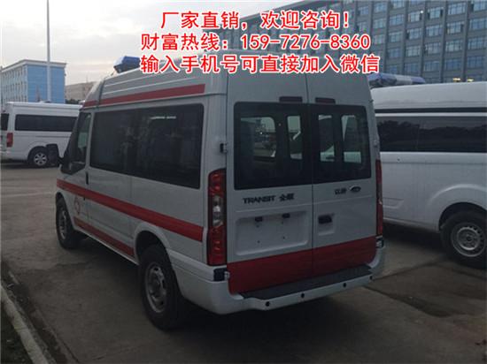 钦州港经济开发区港北区东风御风运送型救护车救护车出厂报价