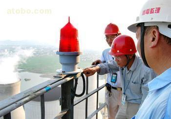 沈阳烟囱安装航标灯选大顺高空热线13615155658