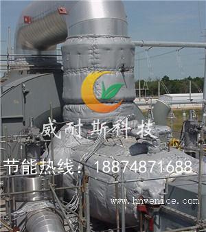 石化企业VC098-新型可拆换热站保温套