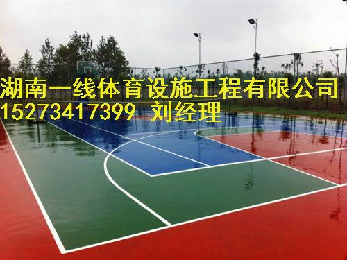 湘西围网灯光网球场施工每天进步一点点湖南一线体育