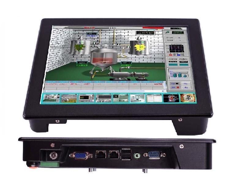 10寸四核强固触控工业平板电脑