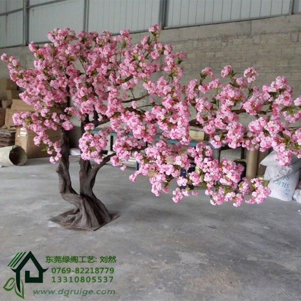 仿真樱花树生产厂家_东莞品质好的仿真樱花树・厂家直销