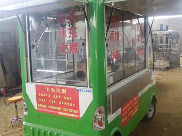 耐用的烧烤车哪里有卖 电动四轮小吃车购买