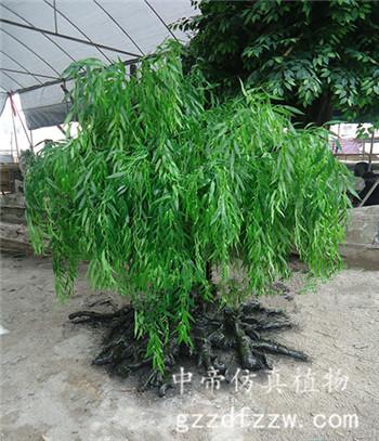 广州知名的仿真柳树供应商推荐 室内装饰树