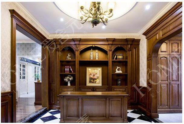 珂芮家居 卧室家具实木衣柜简易实木衣柜全屋定制厂家