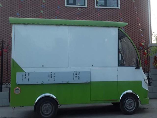 四轮电动美食车|安阳哪里有卖耐用的果蔬车