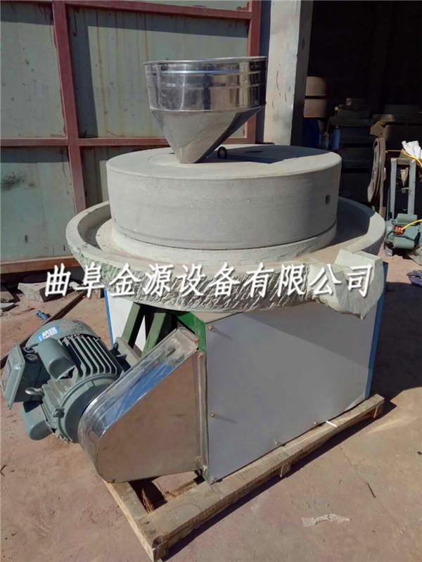 孝感芝麻酱石磨机全自动电动石磨面粉机