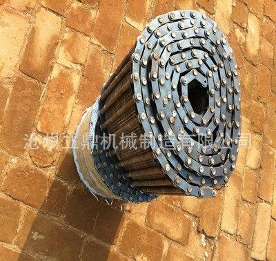 沧州排屑机履带哪家好——沧州钢板防护罩
