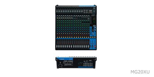 Yamaha/雅马哈 MG20XU调音台20路带效果USB 专业音控调音台
