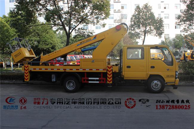 江铃18米曲臂式高空平台车生产厂家在哪