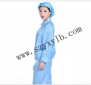 永新源出售专业的防静电连体服、出售深圳防静电连体服