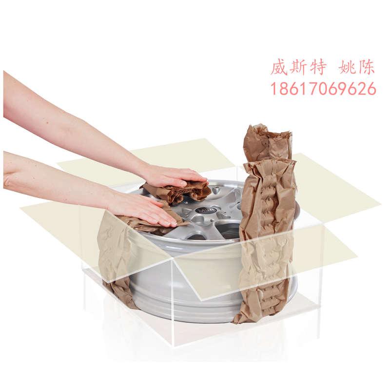 广东惠州龙门汽车零件运输缓冲进口纸垫机产品详情