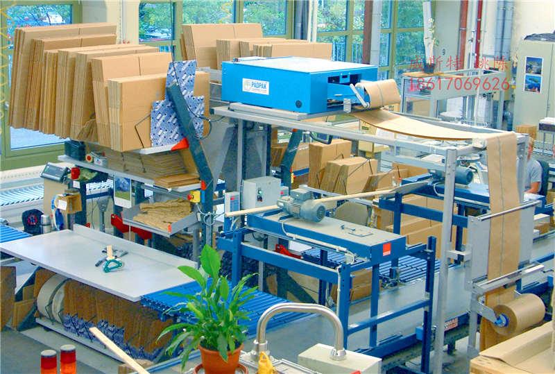 广东惠州龙门导电滑环包装纸垫新型纸垫机