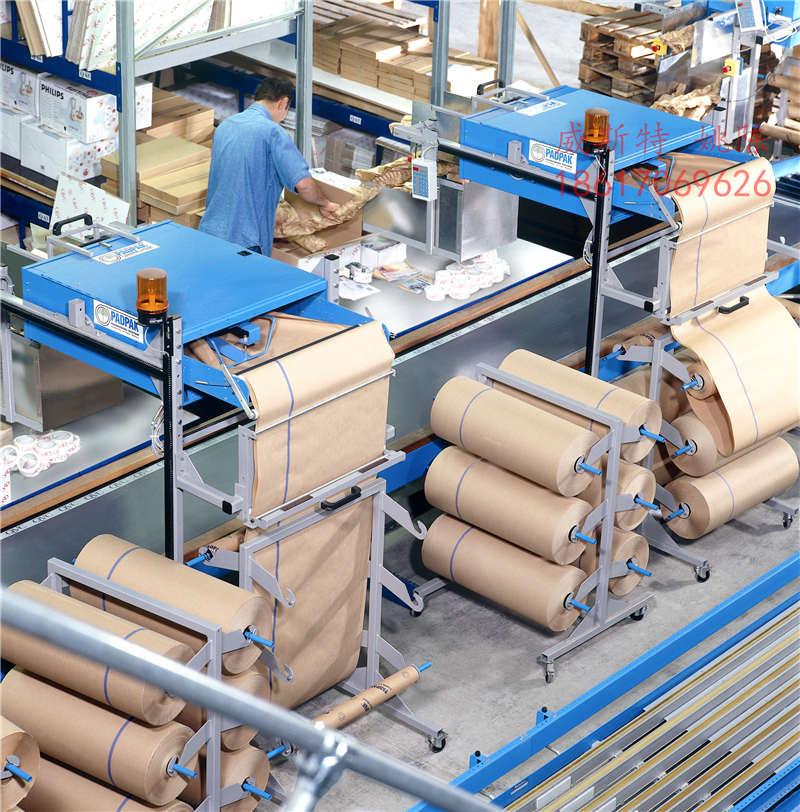 广东惠州龙门ranpak纸垫深圳纸垫机制作厂家