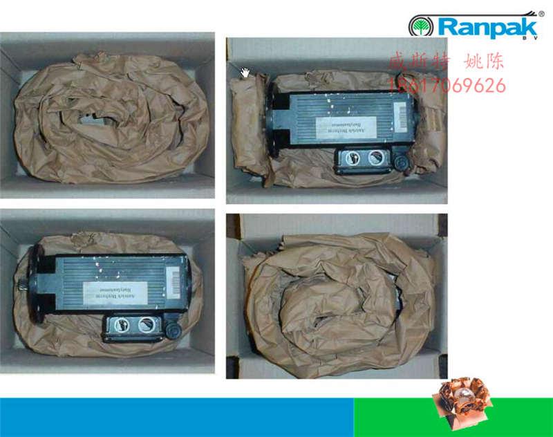 广东惠州龙门深圳导电滑环纸垫机牛皮纸揉纸机使用效果