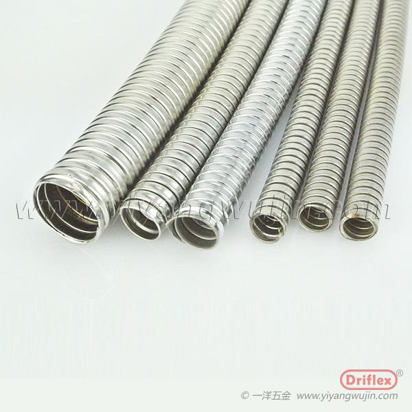 不锈钢金属软管双扣平管穿线管
