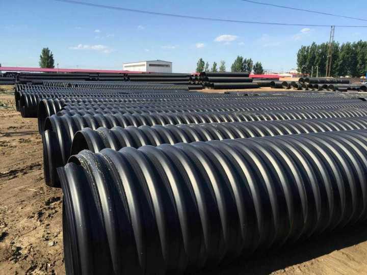 晋中市昔阳县pe钢带波纹管DN800pe管生产厂家15933461888
