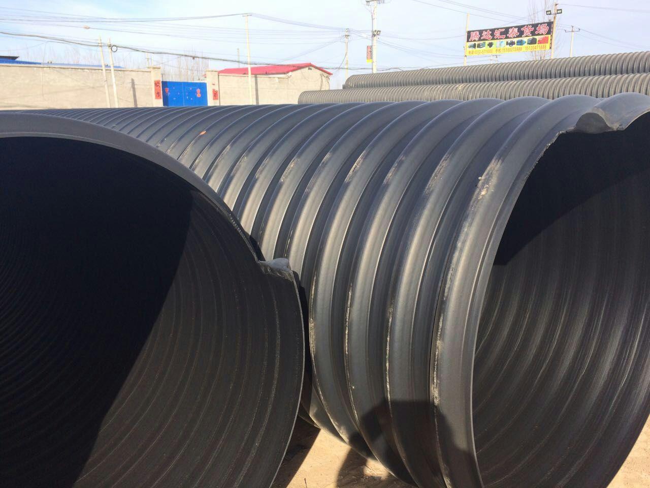 达尔罕茂明安联合旗大口径钢带增强波纹管多少钱一米