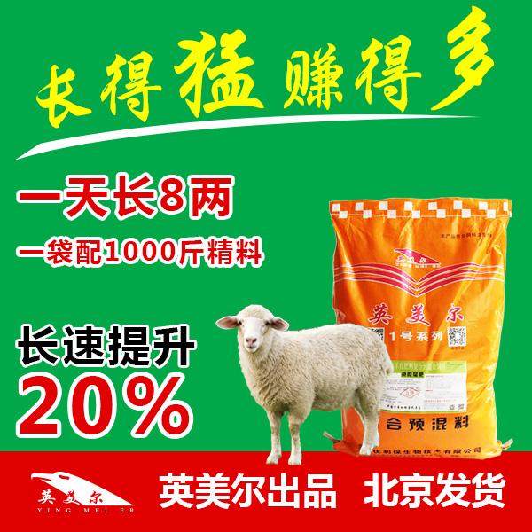 波尔山羊吃啥饲料上膘快架子羊用料安徽省界首市