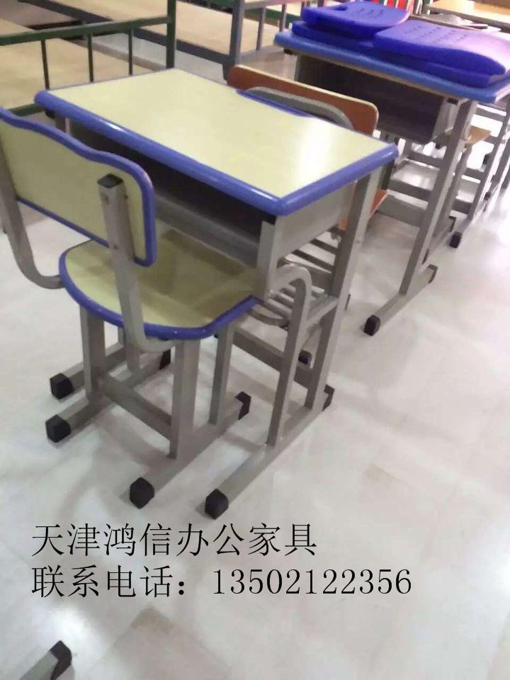 天津市课桌椅厂家价钱、铝开金课桌椅耗益厂家、小教逝世课桌椅厂家
