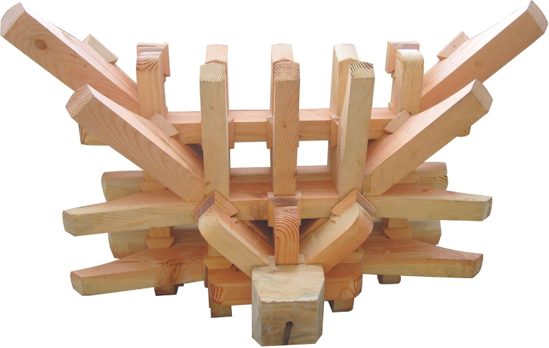 芜湖古建木结构配套产品仿古门头