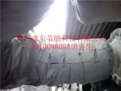 新疆伊犁伊宁风机保温被保温解决方案