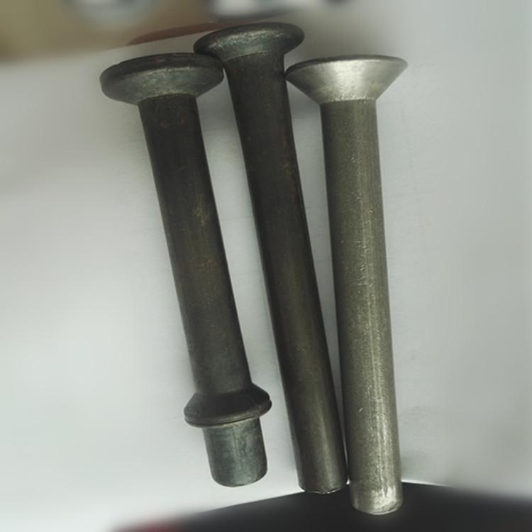 3823预埋槽专用铆钉 热打铆钉10*73带齿哈芬槽专用铆钉
