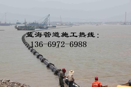 青海沉管隧道清理淤泥公司海上铺管