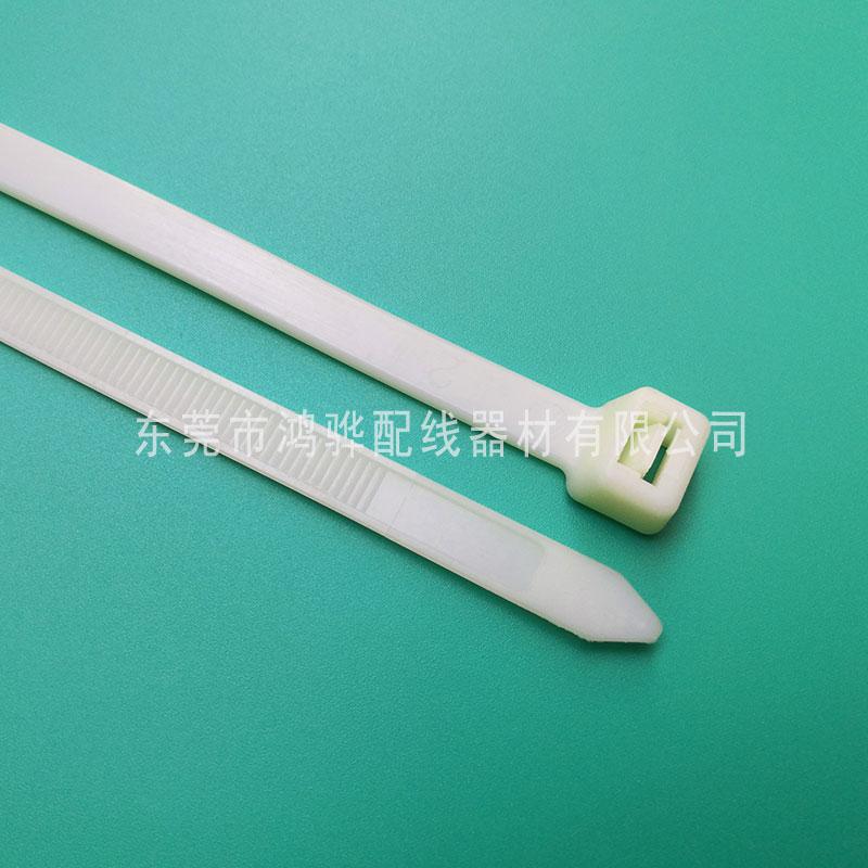 束线带扎带销售价格,塑料耐寒扎带供应,鸿骅塑料扎带规格
