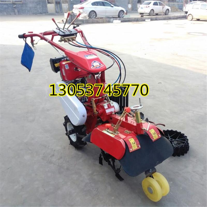 果园苗圃专用旋耕机 手推式小型旋耕机