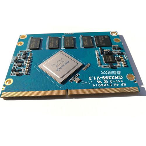 瑞星微RK3399核心板 (A53 四核 1.4GHz + A72 双核2GHz)